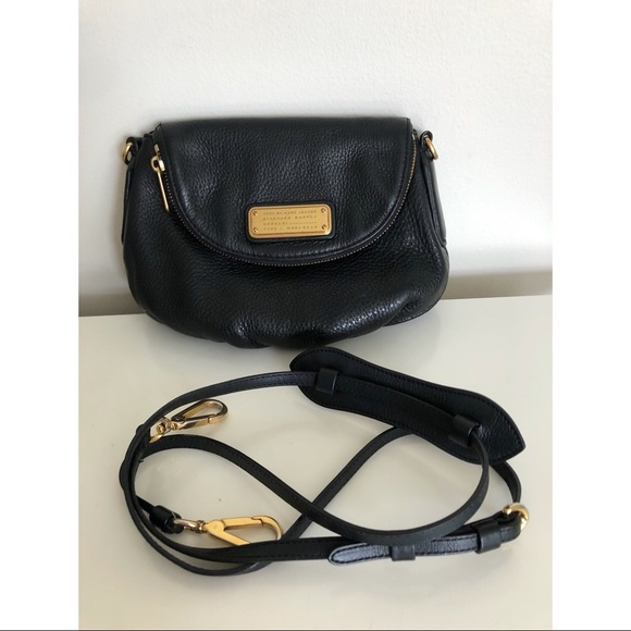 Marc by Marc Jacobs small black leather bag